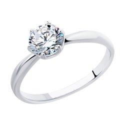 Inel de logodnă din argint SOKOLOV art 89010123 1